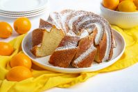 Meyer Lemon Cardamom Pound Cake
