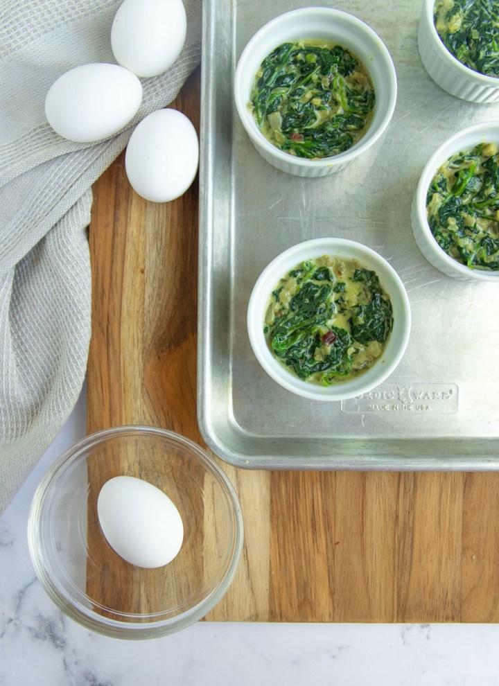 Eggs Florentine Ingredients