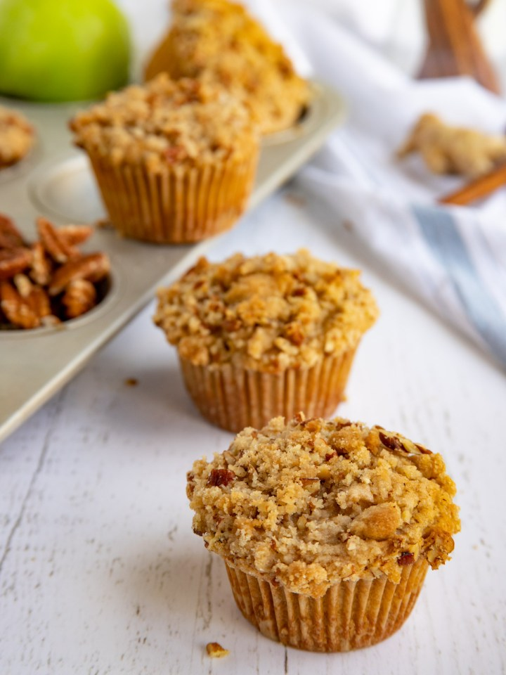 Apple Spice Streusel Muffins