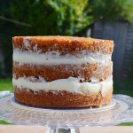 Naked Tropical Carrot Cake