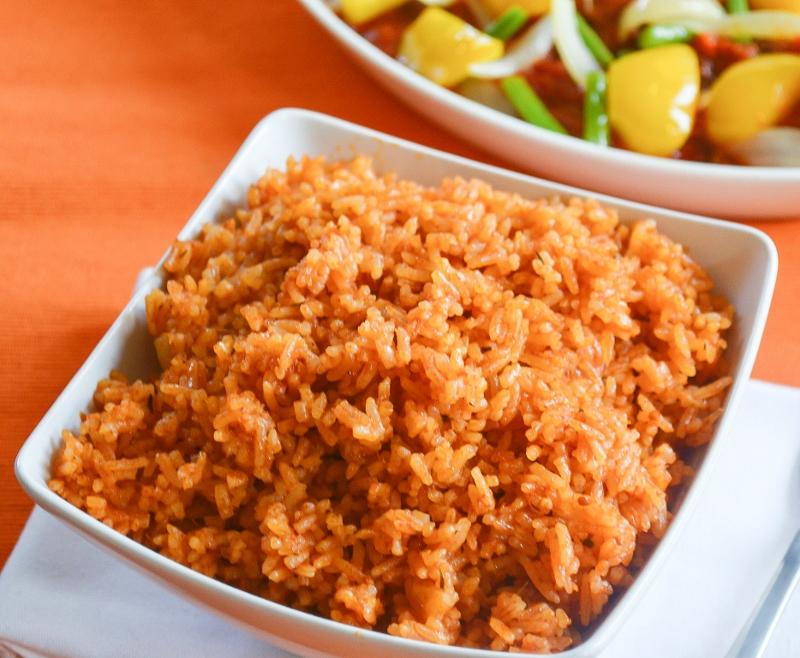 Thai Jasmine Jollof Rice