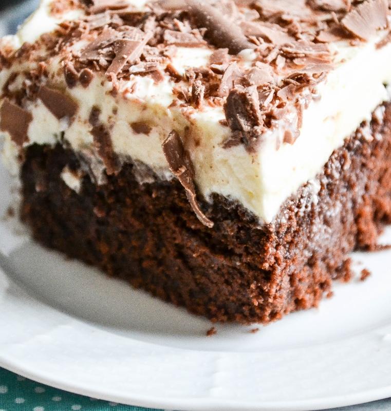 Devil S Food Poke Cake