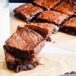 Soft Gooey Fudgy Brownies