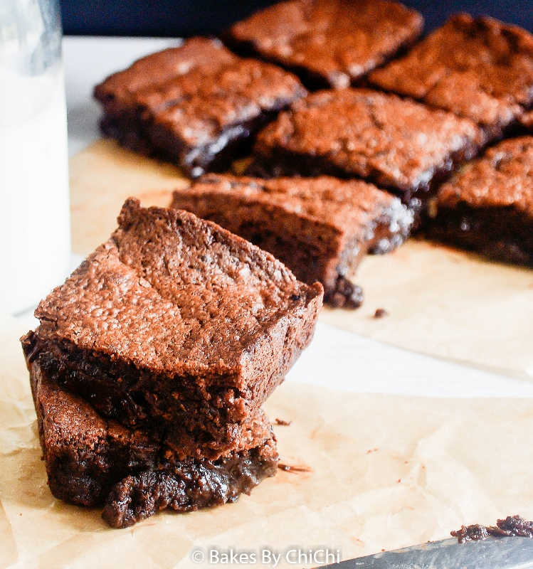 Soft Gooey Fudgy Brownies