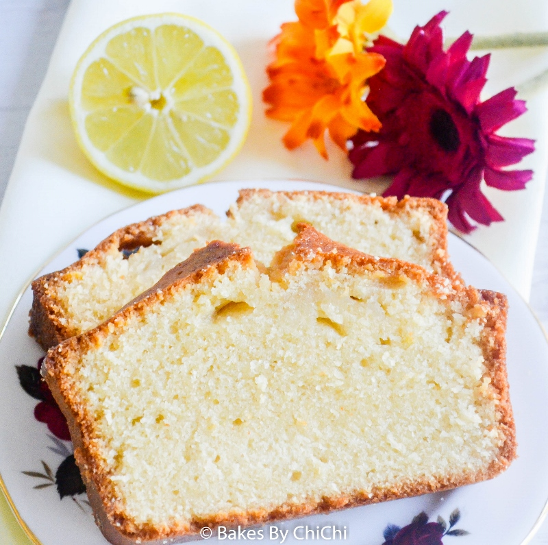 Lemon Loaf Drizzled with Lemon Syrup