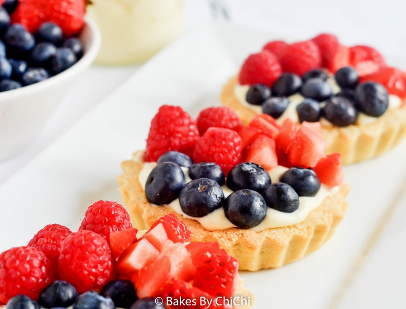 Mixed Berries Fruit Tartlets