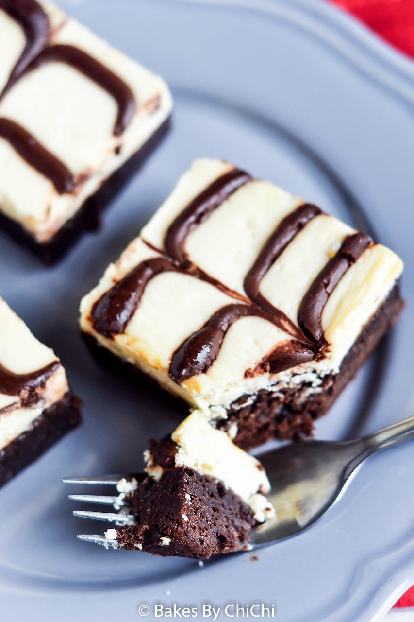 Marbled Cheesecake Brownie