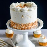 Champagne Cake and White Chocolate Buttercream