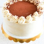 Tiramisu Cake with Espresso Buttercream