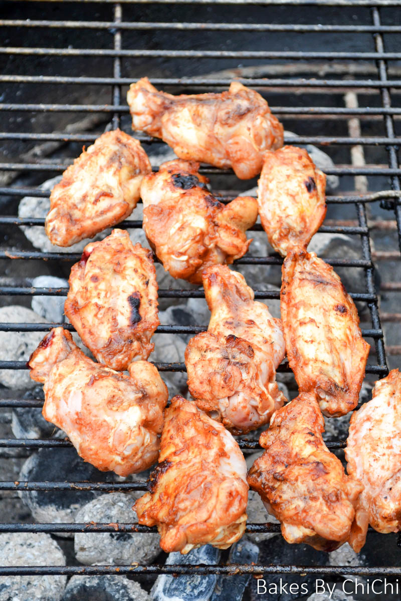 Sweet & Spicy Barbecue Chicken Wings