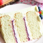 Mixed Berry Mascarpone Cake