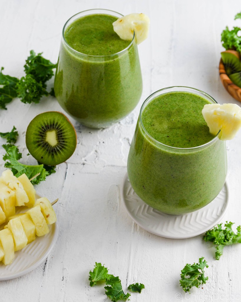 Kale Pineapple Smoothie