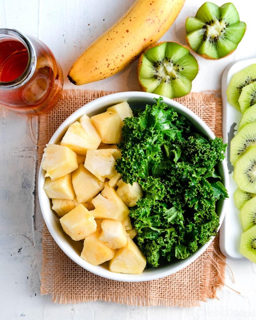 Green smoothie prep