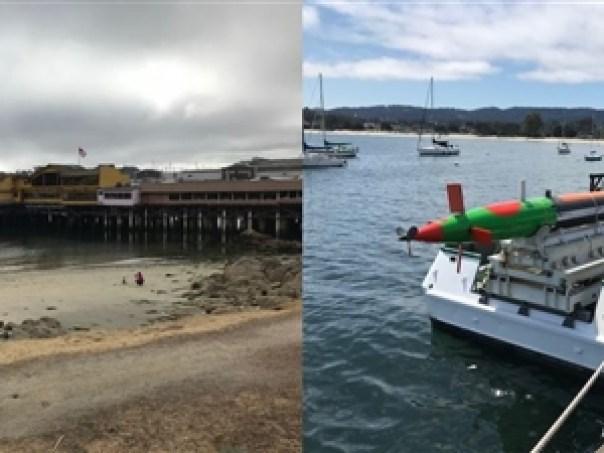 """Monterey pier and """"Test Torpeedo"""""""