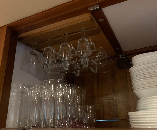 Racks for small glasses