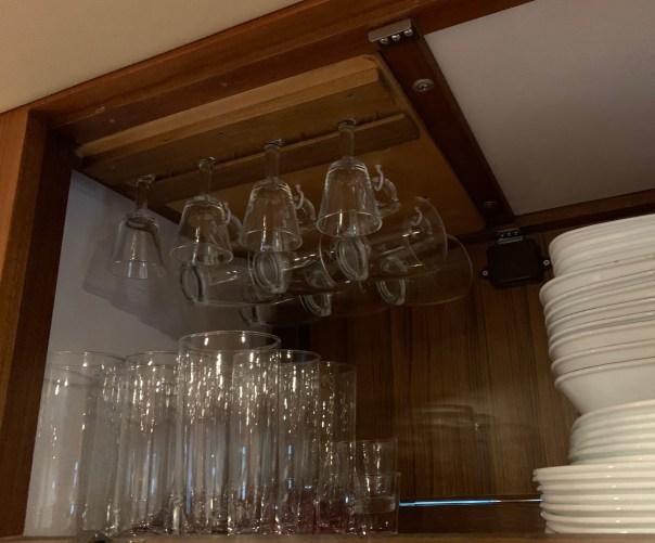 Racks for small glasses