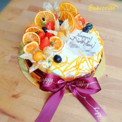 Orange Flourless Cake