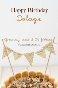 Giveaway dolcizie