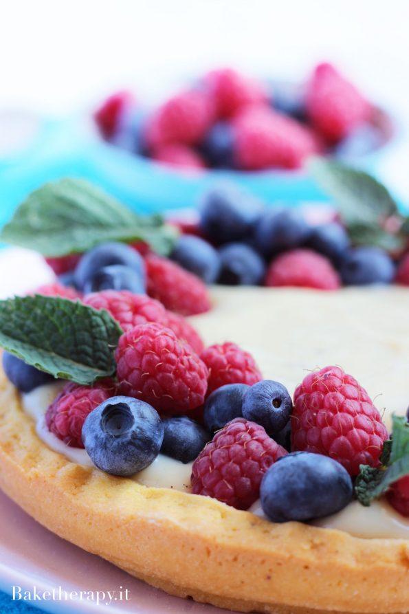 Crostata alla frutta senza lattosio