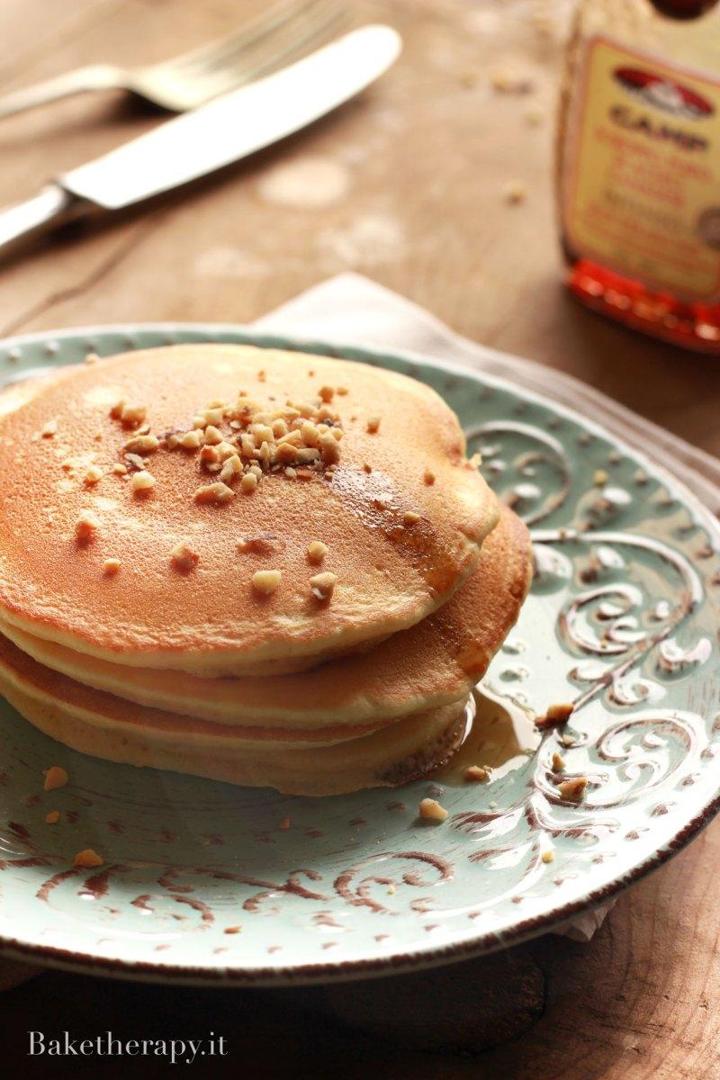 Pancakes allo yogurt di soia
