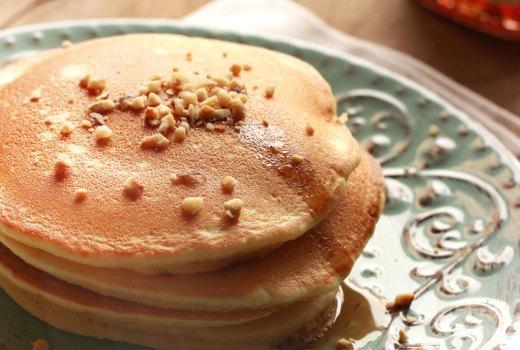 Pancakes allo yogurt (di soia)