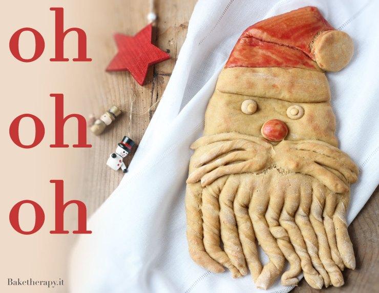 Santa Bread. Il pane di Babbo Natale.
