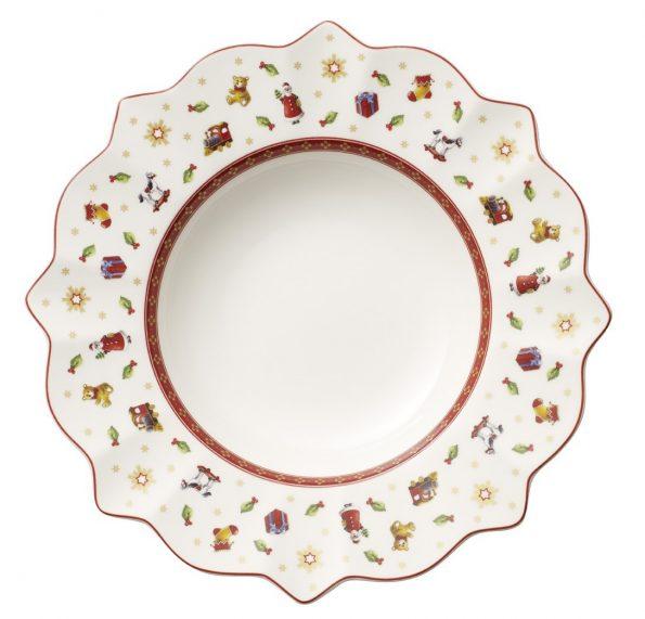 set-6-piatti-fondi-bianco-villeroy-boch-toy-s-delight-cm-26