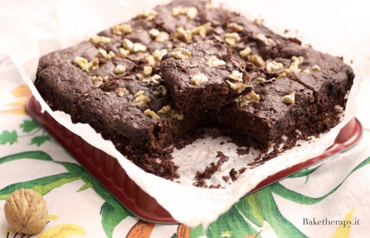 Brownies vegani