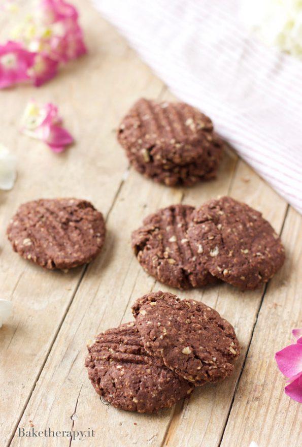 Biscotti vegani al cacao