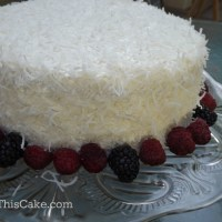 Grandma Margaret's Buttery Coconut Cream Cake Recipe