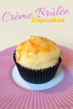 Crème Brûlée Cupcakes