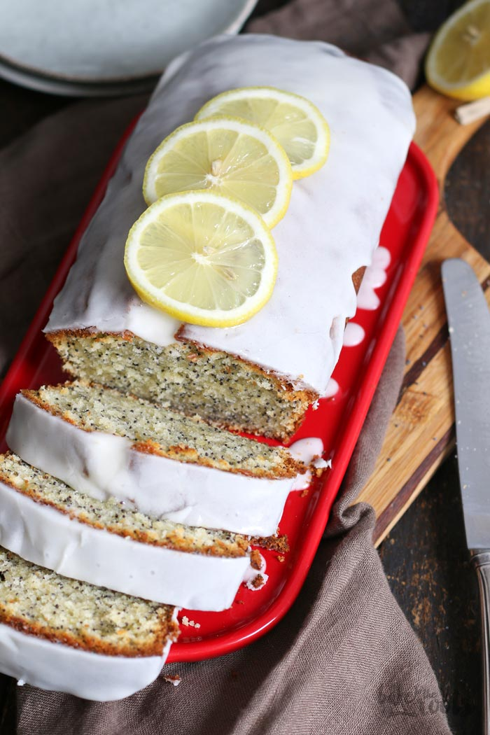 Lemon Poppy Seed Loaf Cake   Bake to the roots