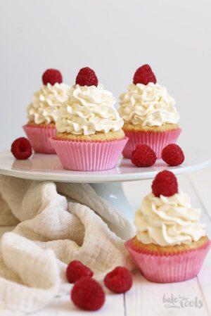 White Chocolate Raspberry Käsekuchen Cupcakes
