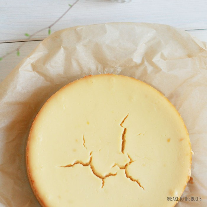Classic Cheesecake | Bake to the roots