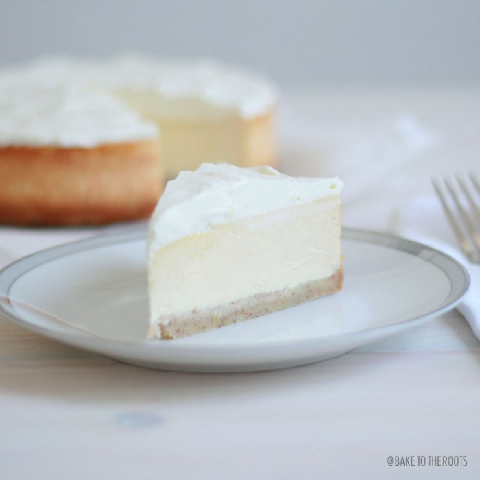 Lemon Cheesecake | Bake to the roots