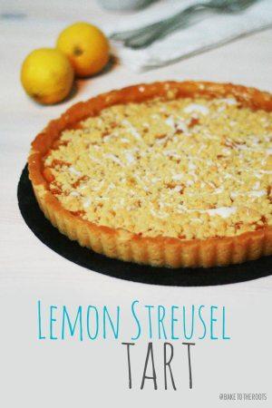 Lemon Streusel Tart
