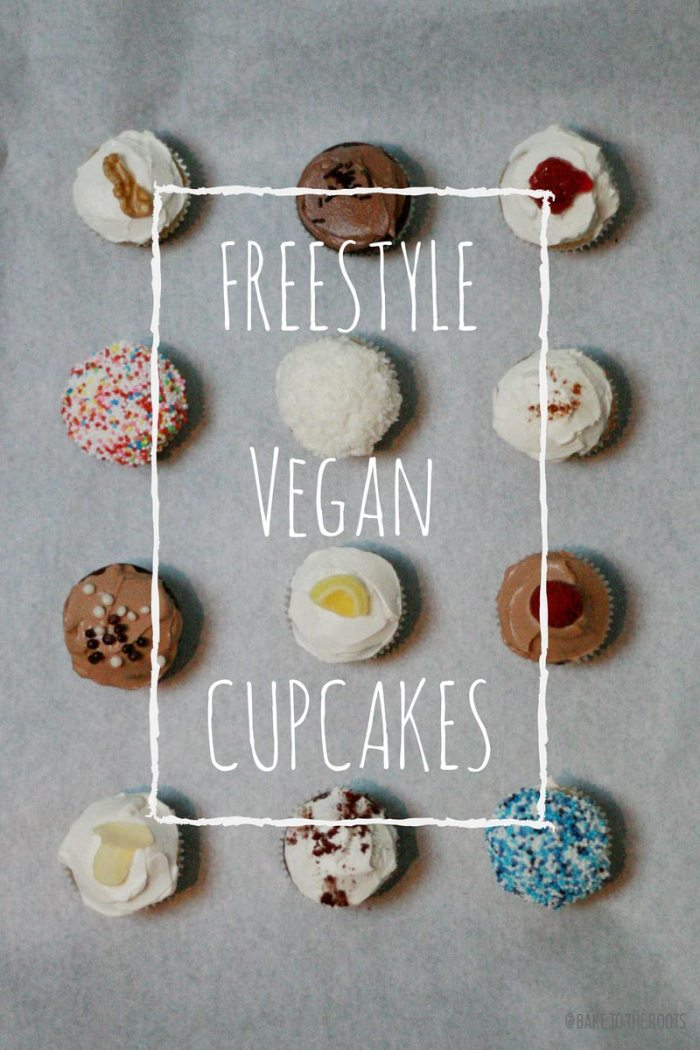 Freestyle Mini Vegan Cupcakes | Bake to the roots