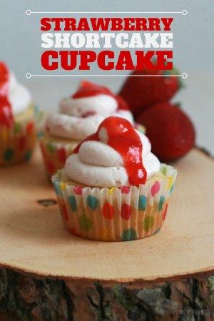 Erdbeer Shortcake Cupcakes