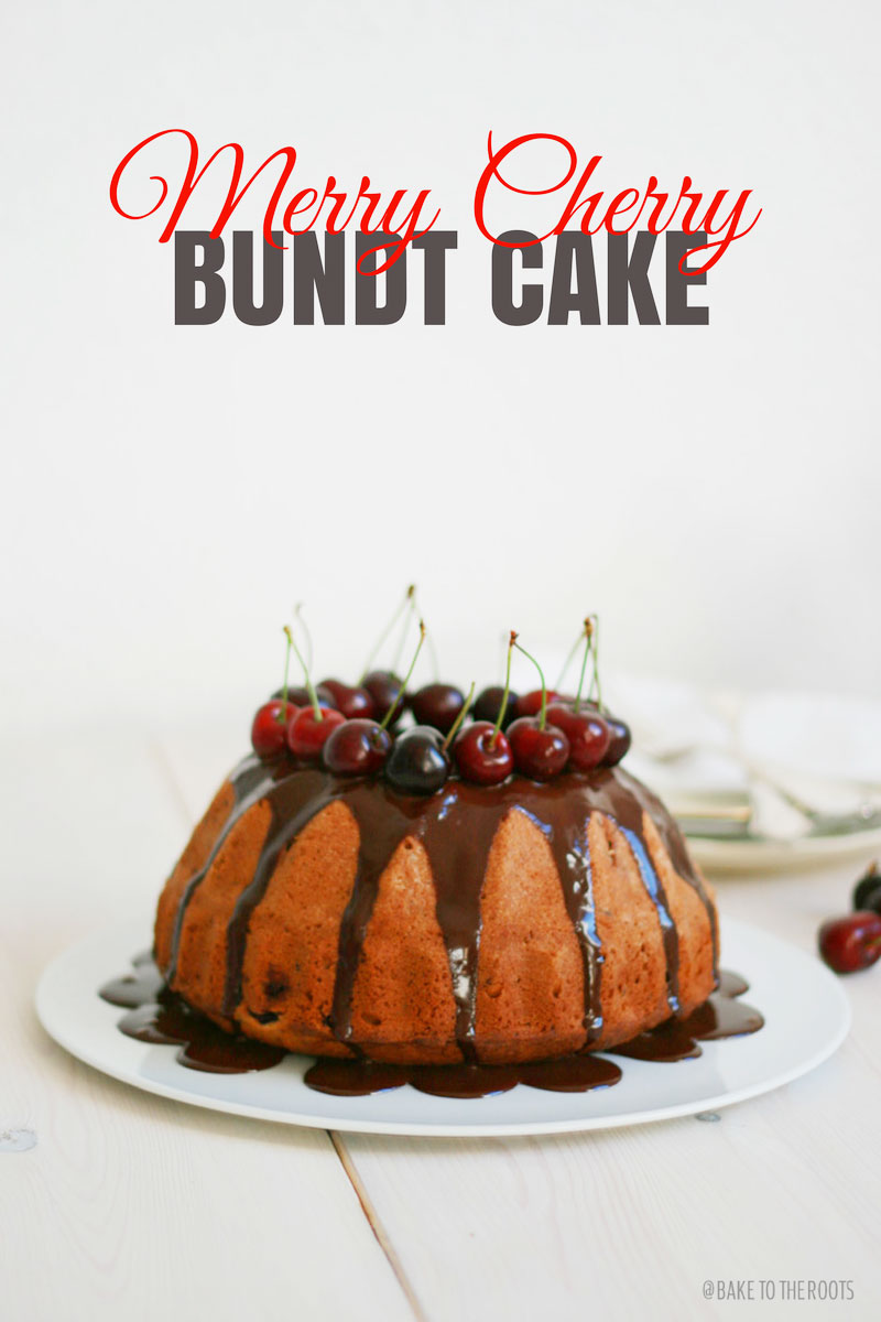 merry cherry bundt cake bake to the roots. Black Bedroom Furniture Sets. Home Design Ideas