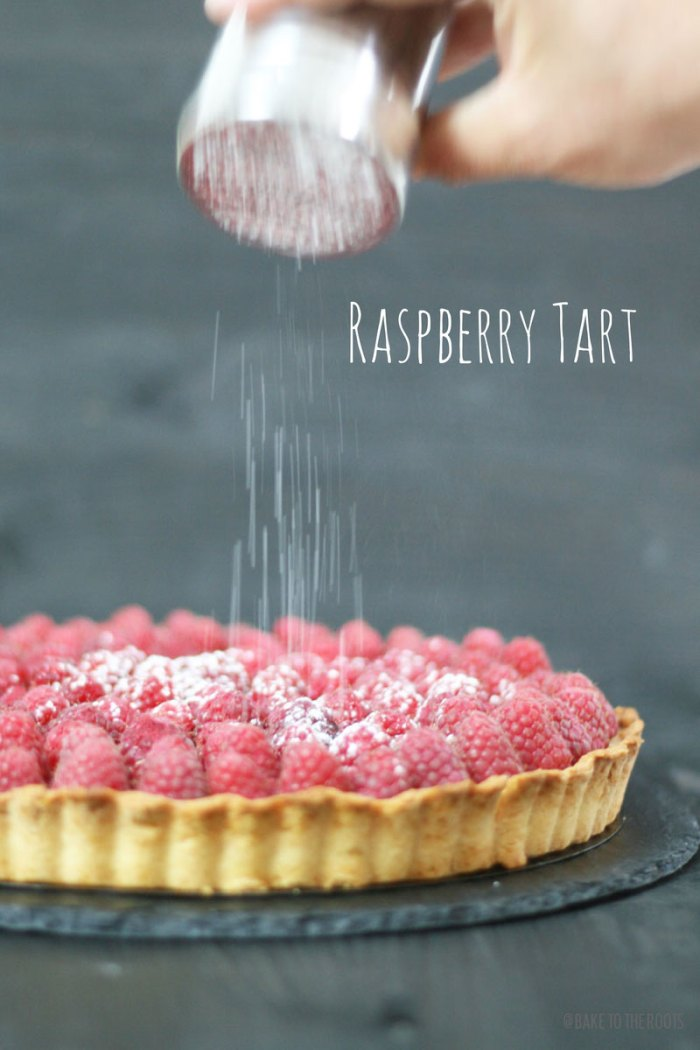Raspberry Tart | Bake to the roots