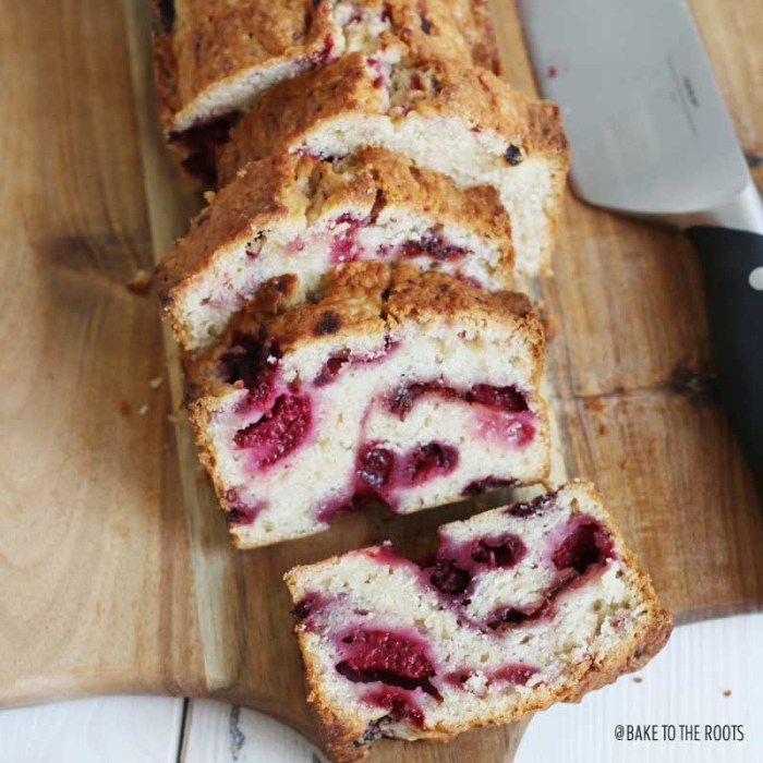 Raspberry Bread | Bake to the roots