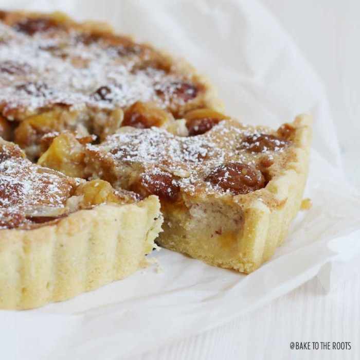Mirabelle Plum Almond Tart | Bake to the roots
