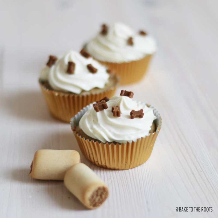 Doggy Cupcakes | Bake to the roots