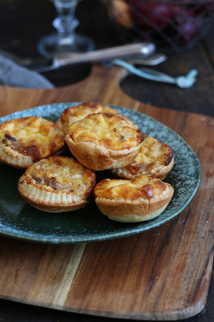 Zwiebelkuchen mit Speck und Käse   Bake to the roots