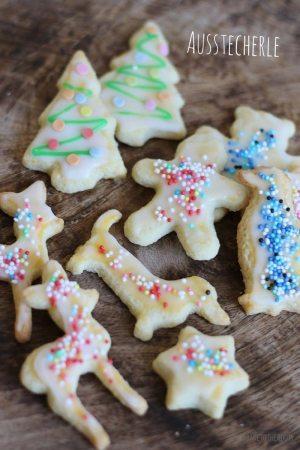 Bunte Ausstecherle aka. Simple Christmas Cookies