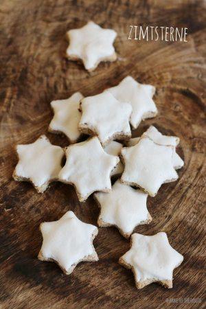 Zimtsterne aka. Cinnamon Stars
