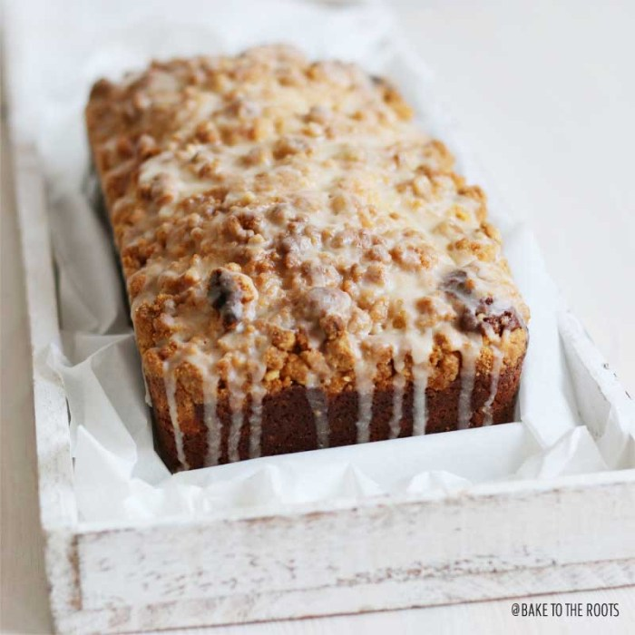 Eggnog Crumb Cake | Bake to the roots