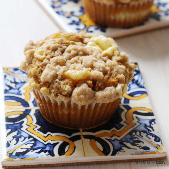 Pumpkin Cheesecake Muffins   Bake to the roots