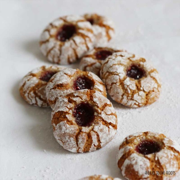 Himbeer-Amarettini | Bake to the roots