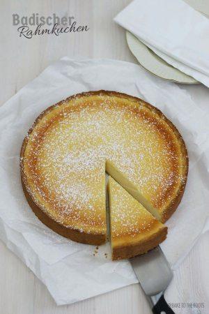 Badischer Rahmkuchen (Sour Cream Cake)